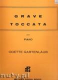 Okładka: Gartenlaub Odette, Grave et Toccata pour piano
