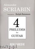 Okładka: Scriabin Aleksander, 4 Preludes