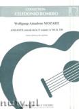 Okładka: Mozart Wolfgang Amadeusz, Andante extrait de la Sonate K. 330