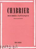Ok�adka: Chabrier Emmanuel, Bour�e Fantasque per pianoforte