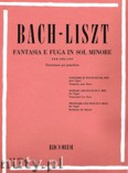 Okładka: Bach Johann Sebastian, Fantasia E Fuga in Sol Minore
