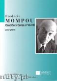 Ok�adka: Mompou Frederic, Cancion y Danza - No. 7-8