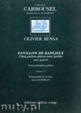 Okładka: Bensa d'Olivier, Pavillon De Banlieue pour guitare