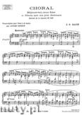 Okładka: Bach Johann Sebastian, Choral, Extrait de la Cantate No. 147