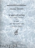 Ok�adka: Brahms Johannes, Variations On A Theme Of Paganini, Op. 35, Vol. 2
