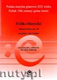 Okładka: Horecki Feliks, Amusemens op. 18 na gitarę