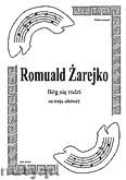 Okładka: Żarejko Romuald, Bóg się rodzi na 3 altówki (partytura + głosy)