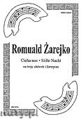 Okładka: Gruber Franz Xavier, Cicha noc na 3 altówki i fortepian (partytura + głosy)