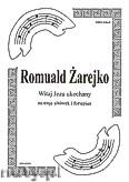 Okładka: Żarejko Romuald, Witaj Jezu ukochany na 3 altówki i fortepian (partytura + głosy)