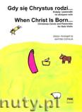Ok�adka: Cofalik Antoni, Gdy si� Chrystus rodzi... Kol�dy i pastora�ki na skrzypce solo
