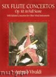 Ok�adka: Vivaldi Antonio, Six Flute Concertos, Op. 10 (in Full Score)