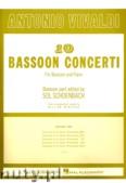Ok�adka: Vivaldi Antonio, 10 Bassoon Concertos - Volume 1