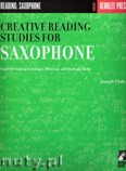Okładka: Viola Joseph, Creative Reading Studies For Saxophone
