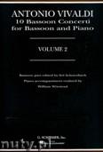 Ok�adka: Vivaldi Antonio, 10 Bassoon Concertos - Volume 2