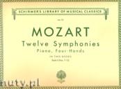 Okładka: Mozart Wolfgang Amadeusz, Twelve Symphonies, Vol. 2 (7 - 12)