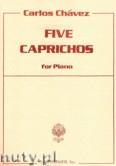 Okładka: Chavez Carlos, 5 Caprichos