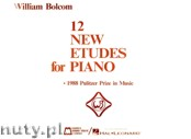 Okładka: Bolcom William, 12 New Etudes For Piano