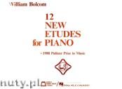 Okładka: Bolcom William, 12 New Etudes For Piano
