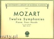 Okładka: Mozart Wolfgang Amadeusz, 12 Symphonies - Book 1: Nos. 1-6