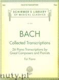 Okładka: Bach Johann Sebastian, Collected Transcriptions