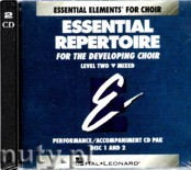 Okładka: O'Hern Michael, Essential Repertoire For The Developing Choir, Level Two (Disc 1 and 2)