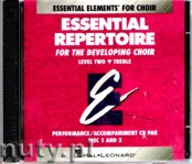 Ok�adka: O'Hern Michael, Essential Repertoire For The Developing Choir