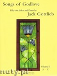 Okładka: Gottlieb Jack, Songs of Godlove, Volume 2: S-Z