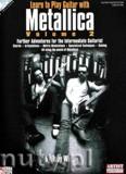 Okładka: Wine Toby, Learn To Play Guitar With Metallica, Volume 2
