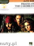 Okładka: Różni, Pirates Of The Caribbean for Alto Sax (+ CD)