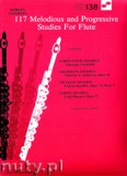 Okładka: Arnold Jay, 117 Melodious And Progressive Studies For Flute