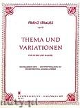 Ok�adka: , Temat i wariacje op.13 na r�g i fortepian