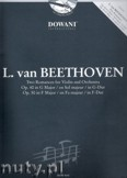 Ok�adka: Beethoven Ludwig van, Two Romances For Violin And Orchestra Op. 40 In G Major And Op. 50 In F Major
