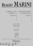 Okładka: Marini Biagio, 2 Sonaty z op. 8 na 2 fagoty i basso continuo (partytura+głosy+faksymilia starodruku)