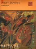 Okładka: Sławiński Adam, Intermezzo na kwartet smyczkowy (partytura i głosy)