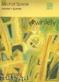 Okładka: Spisak Michał, Kwintet na flet, obój, klarnet, róg i fagot (partytura i głosy)
