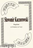 Okładka: Kaczorowski Sławomir, Ragtime na fortepian na 4 ręce