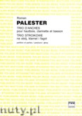 Okładka: Palester Roman, Trio stroikowe na obój, klarnet i fagot (partytura + głosy)