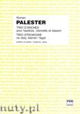 Ok�adka: Palester Roman, Trio stroikowe na ob�j, klarnet i fagot (partytura + g�osy)