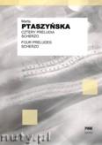 Okładka: Ptaszyńska Marta, Cztery preludia na wibrafon i fortepian, Scherzo na ksylofon i fortepian