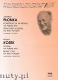 Okładka: Płonka Jarosław, Kosek Robert, Konstrukcja w metalu; Hejnał na trąbkę solo