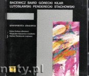 Ok�adka: , P�yta jubileuszowa: Bacewicz, Baird, G�recki, Kilar, Lutos�awski, Penderecki, Stachowski