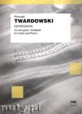 Okładka: Twardowski Romuald, Espressioni na skrzypce i fortepian