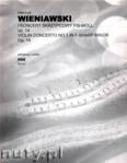 Okładka: Wieniawski Henryk, I Koncert skrzypcowy fis-moll op. 14 (part.), (1853), ca 25'