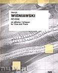 Ok�adka: Wieniawski Henryk, Reverie na alt�wk� i fortepian
