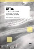 Ok�adka: Baird Tadeusz, Concerto Lugubre na alt�wk� i orkiestr� (wyci�g fortepianowy)