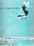Okładka: Brahms Johannes, Intermezzo