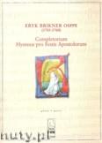 Okładka: Osppe Eryk Brikner, Completorium. Hymnus Pro Festis Apostolorum - same głosy