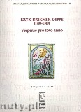 Okładka: Osppe Eryk Brikner, Vesperae Pro Toto Anno (partytutra)