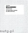 Ok�adka: Bujarski Zbigniew, Orniphania na wiolonczel� i fortepian