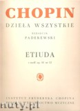 Ok�adka: Chopin Fryderyk, Etiuda c-moll op. 10 nr 12 (Rewolucyjna)